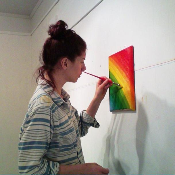 Michelle Rawlings przy pracy @rastergallery