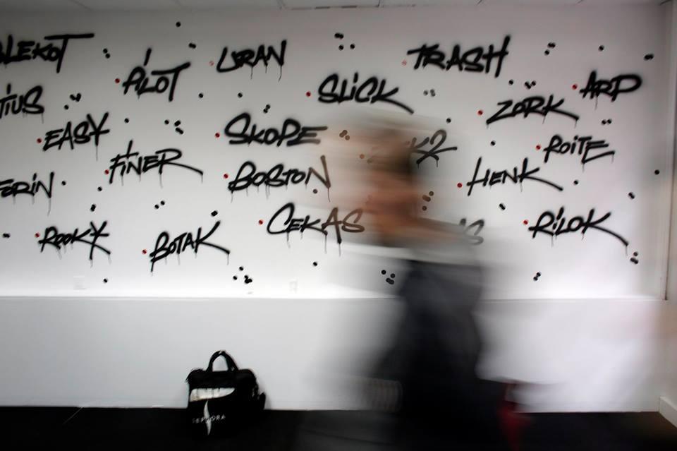 """Wernisaż wystawy """"BEYOND GRAFFITI WRITING"""" wGalerii Miasta Ogrodów"""