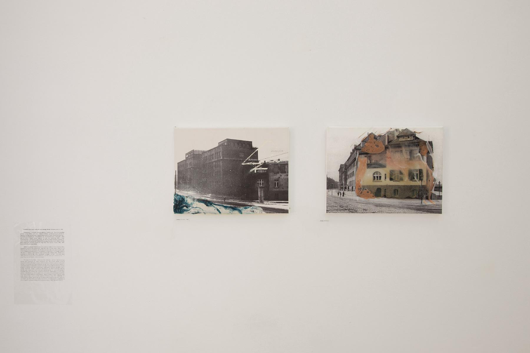 Direktor Wohnhaus 1962 iDirektor Wohnhaus, topiony wosk nafotografiii archiwalnej, fot.M.Bączyk
