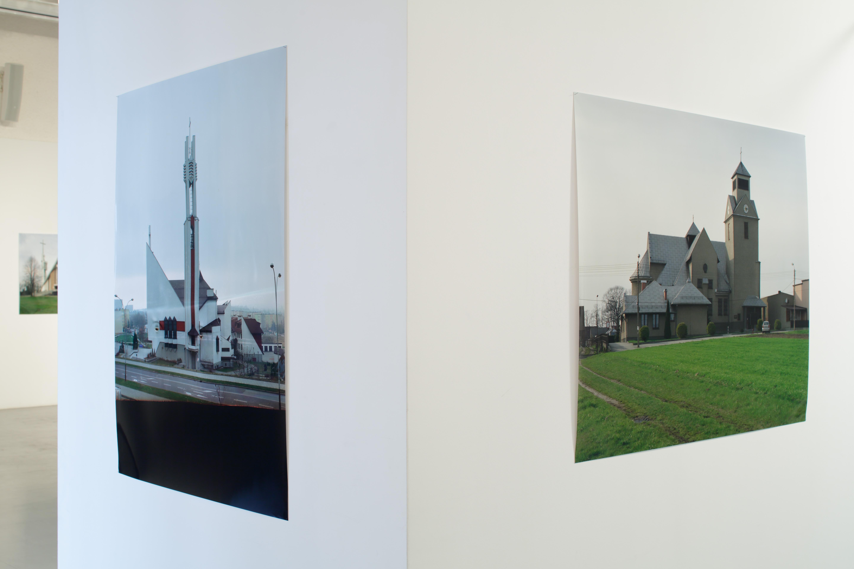 Lukas Jasansky, Martin Polak, Kościoły, kościoły, widok wystawy