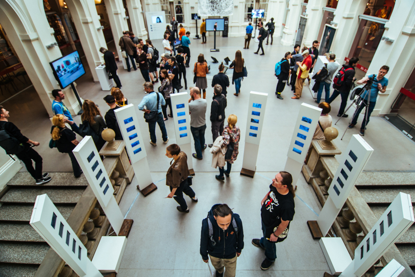 Biennale WRO 2015, Muzeum Narodowe weWrocławiu, fot.Marcin Maziej