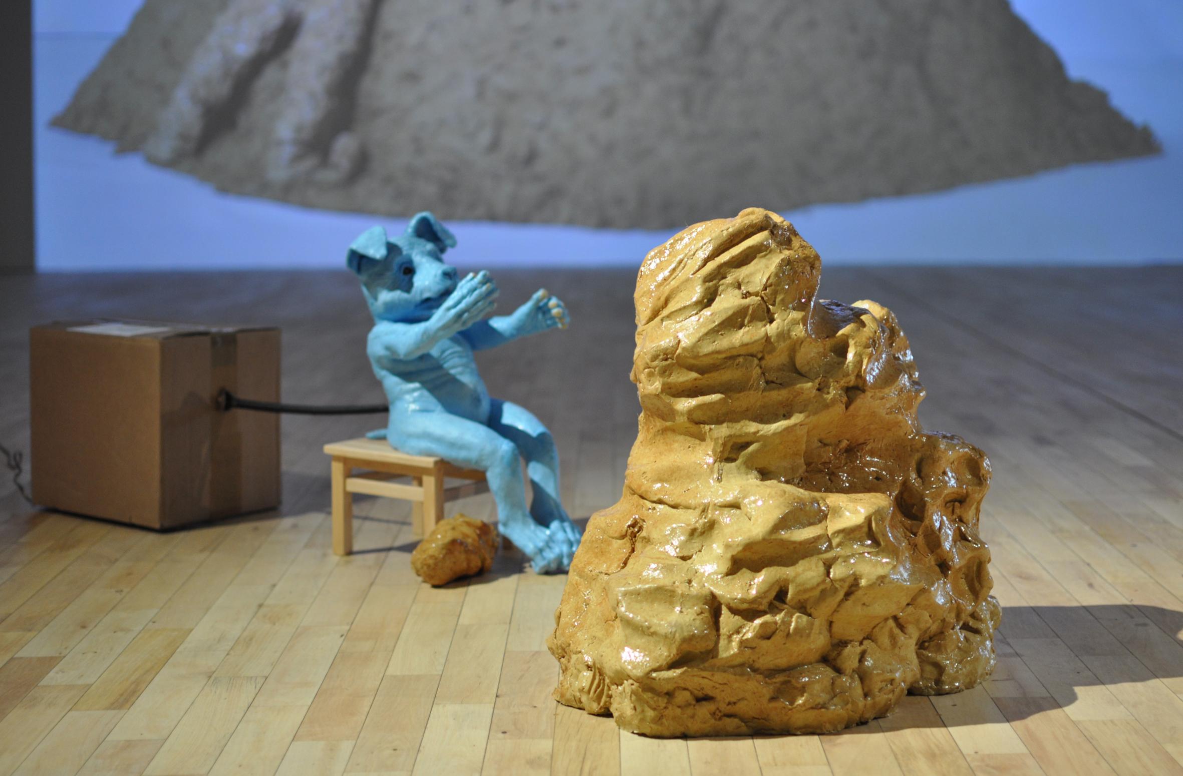Tomasz Mróz, Défaitisme, widok wystawy