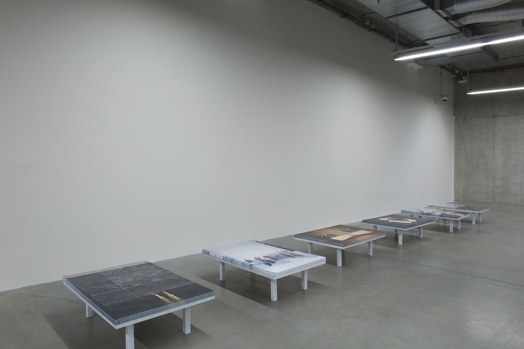 he Exhibition, Daniela Dostálková, The Process of Measuring, 2015