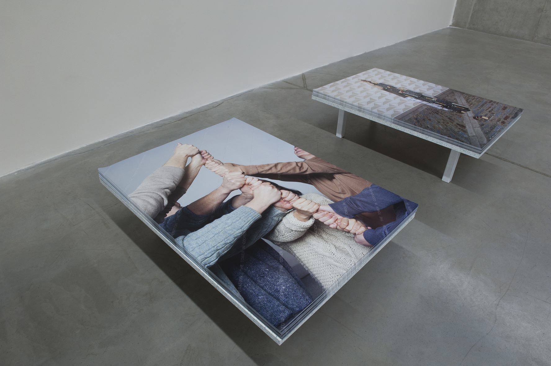 The Exhibition, Daniela Dostálková, The Process of Measuring, 2015