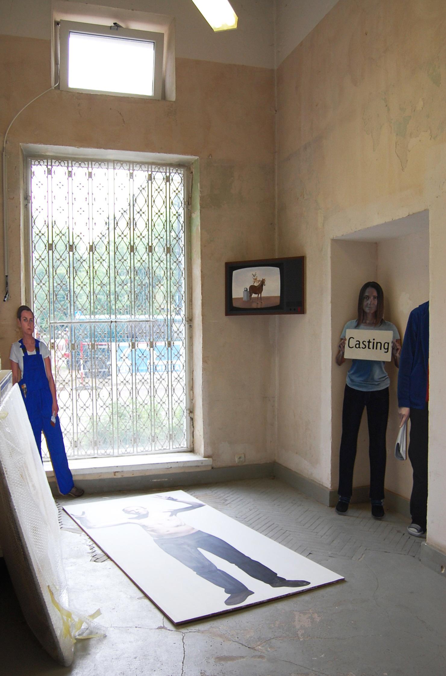 Anna Sudoł, Jak sztuka zniszczyła mi życie, widok wystawy