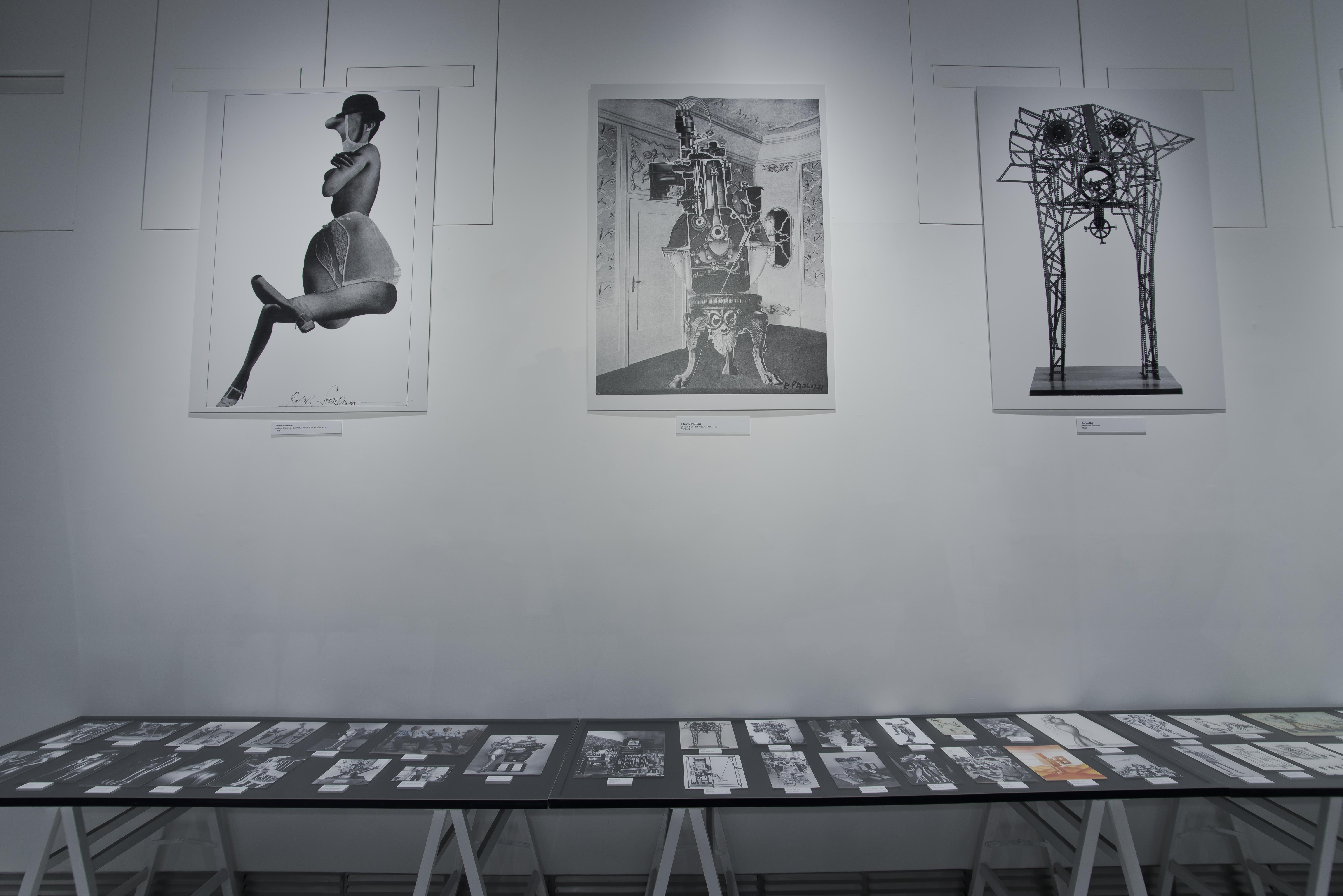 wydruki przedstawiające wizerunki obiektów tworzonych nawzór człowieka