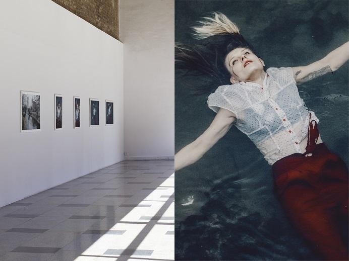 Honorata Martin, Moment, performans,  dokumentacja fotograficzna Michał Szlaga, 2015