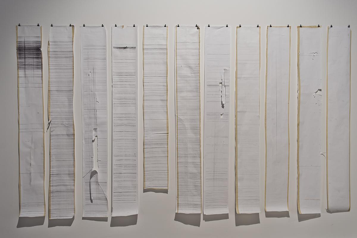 Dokumentacja projektu SILENT BARRAGE, 2008-2009, Guy Ben-Ary
