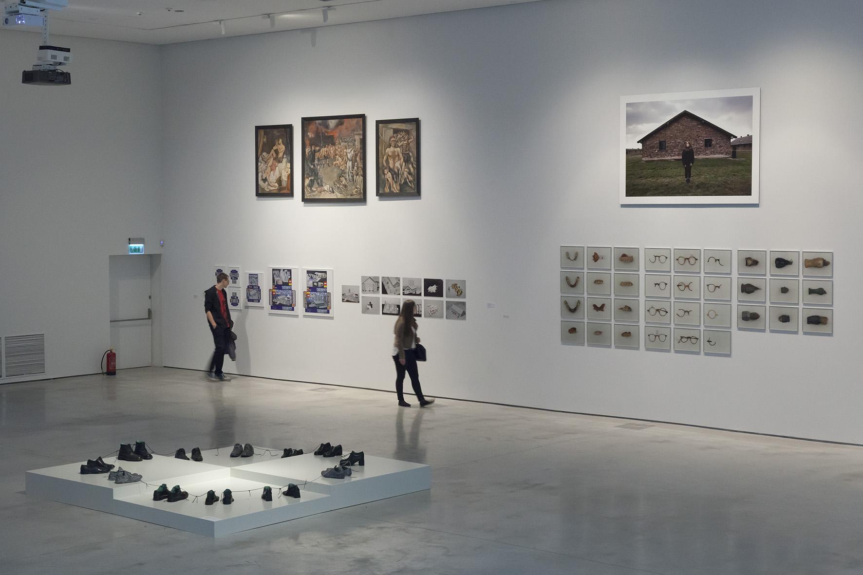 Polska – Izrael– Niemcy. Doświadczenie Auschwitz, widok wystawy