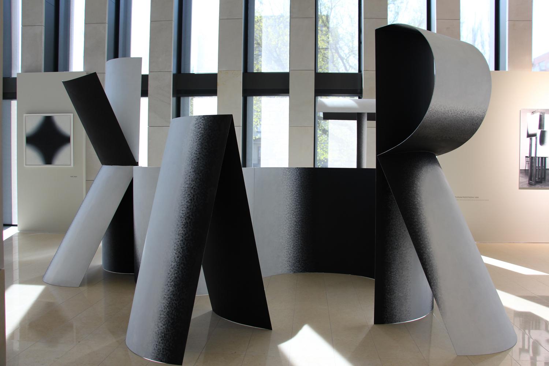 Wojciech Fangor, widok wystawy, Spectra Art Space