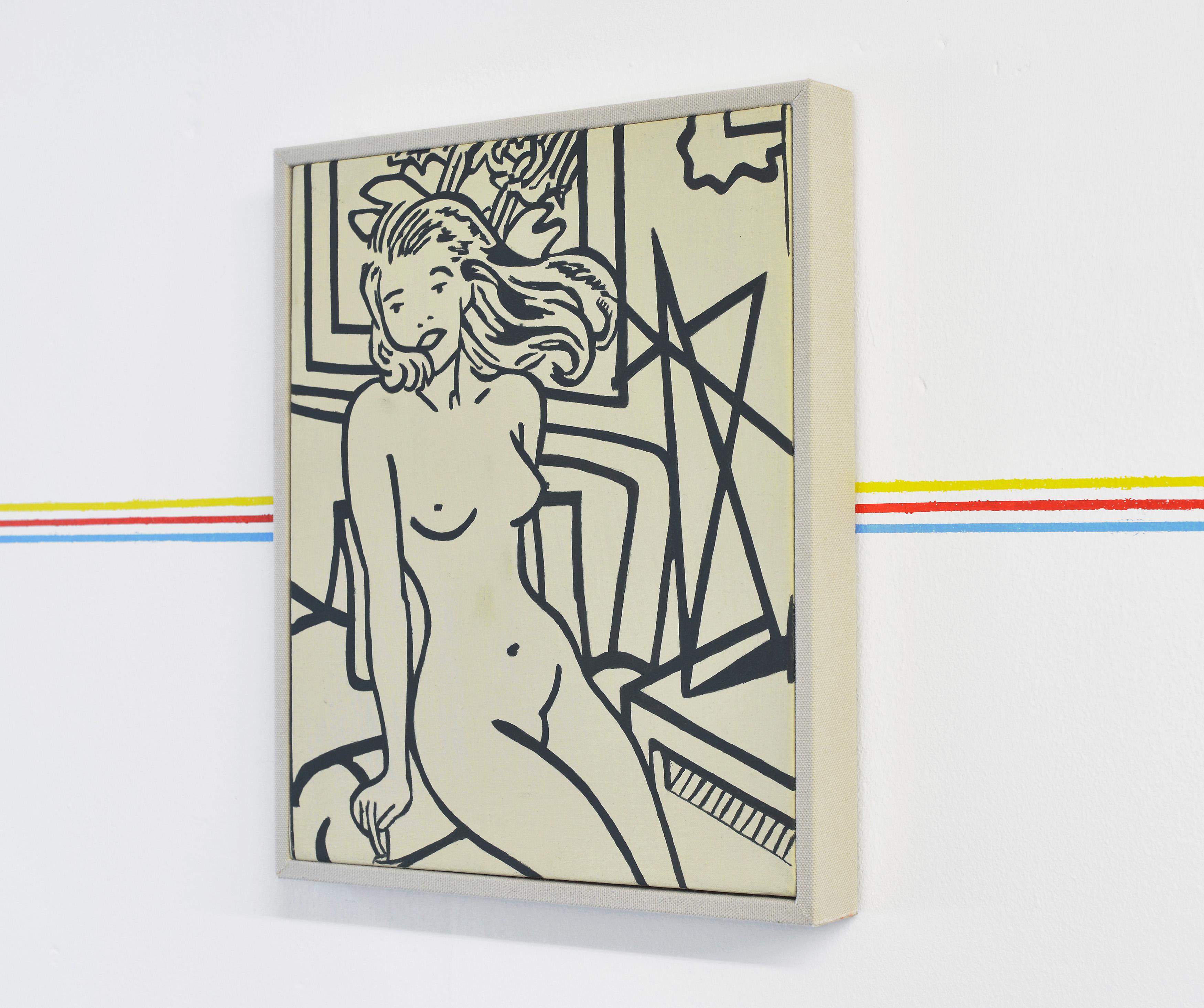 Michelle Rawlings, Beztytułu, 2015, olej napłótnie lnianym, 33 x 28 cm