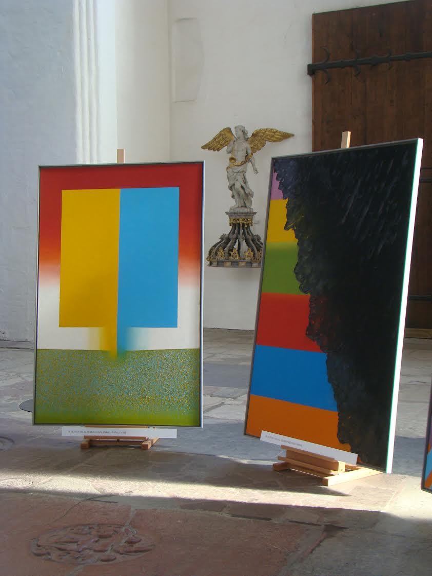 ykl Malowanie Dziesięciorga Przykazań, kościół Najświętszej Panny Marii wGdańsku