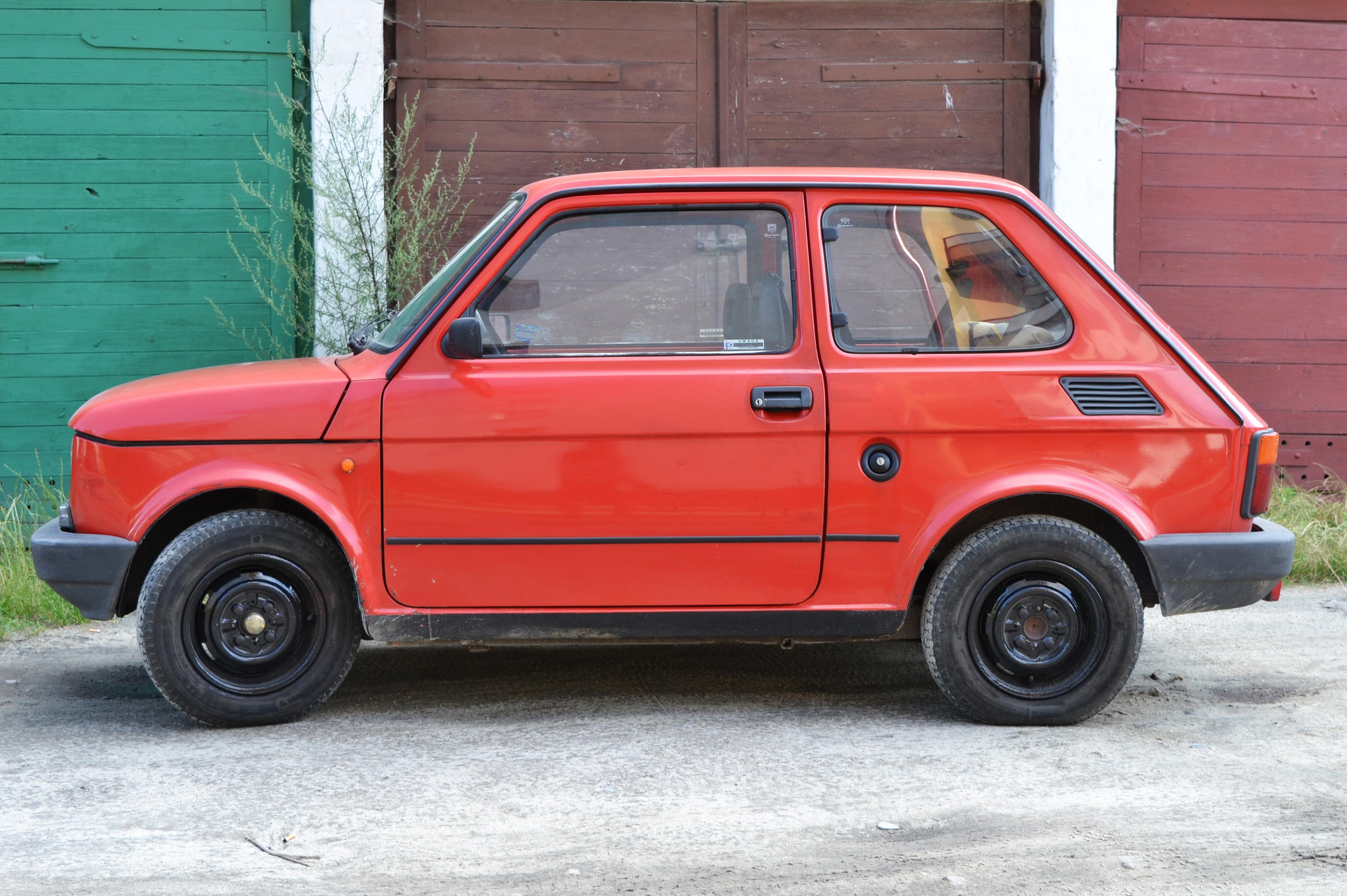 Fiat 126p, obiekt archiwalny