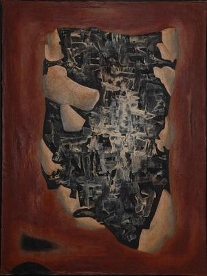 Andrzej Matuszewski, Obraz 17, 1962-3, olej, płótno, 120 x 90
