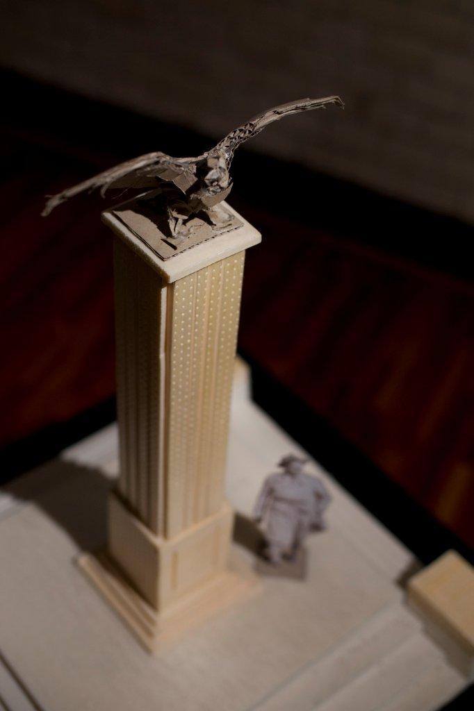 Projekt pomnika Powstańców Śląskich autorstwa Tomasza Wenklara
