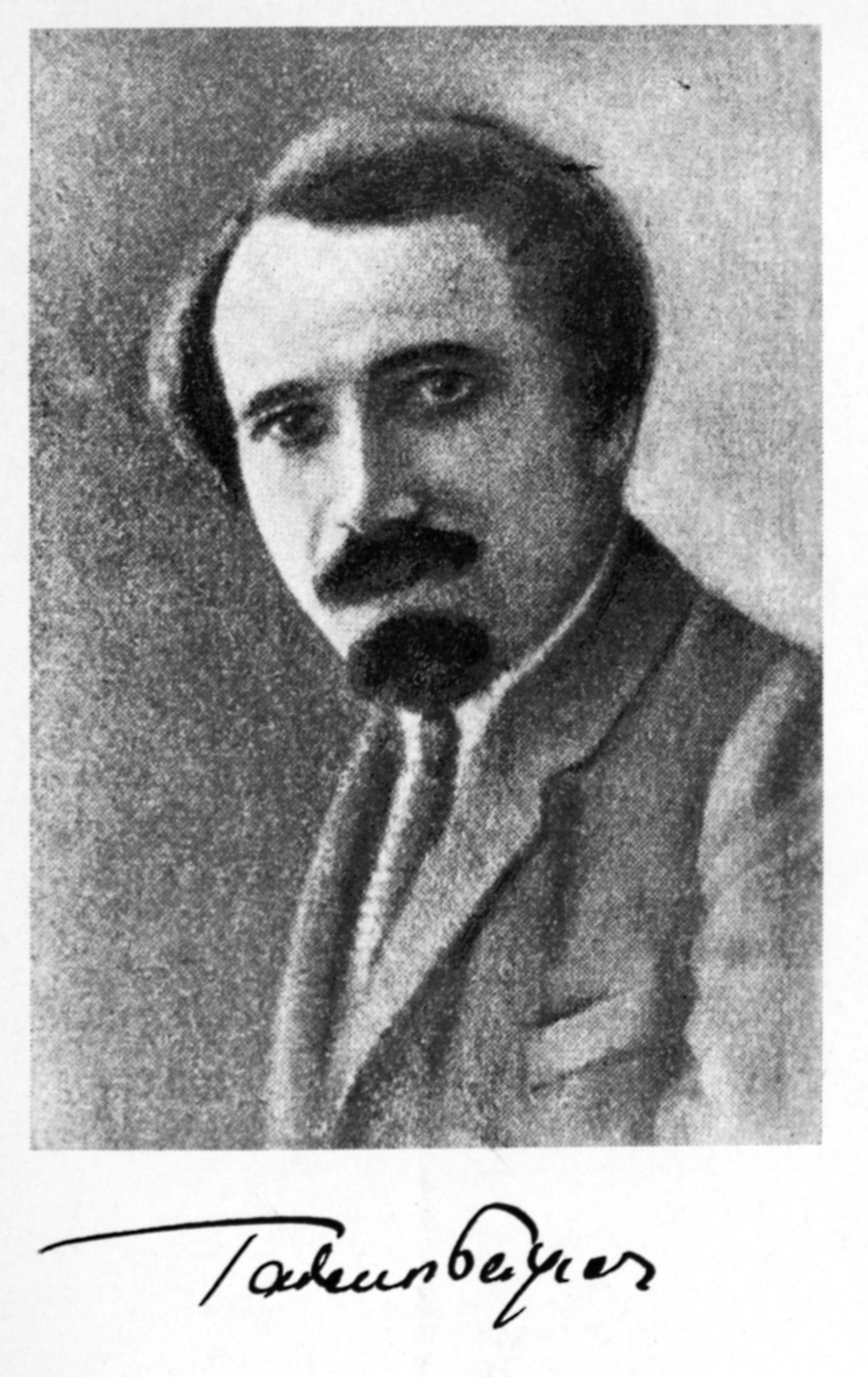 """Tadeusz Peiper, repr. za: """"Świat"""" 1925, nr15"""