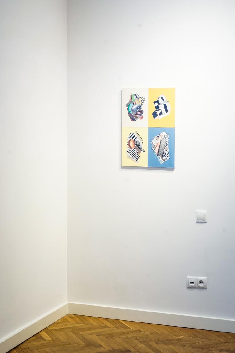 Tomasz Ciecierski, Abitare, widok wystawy