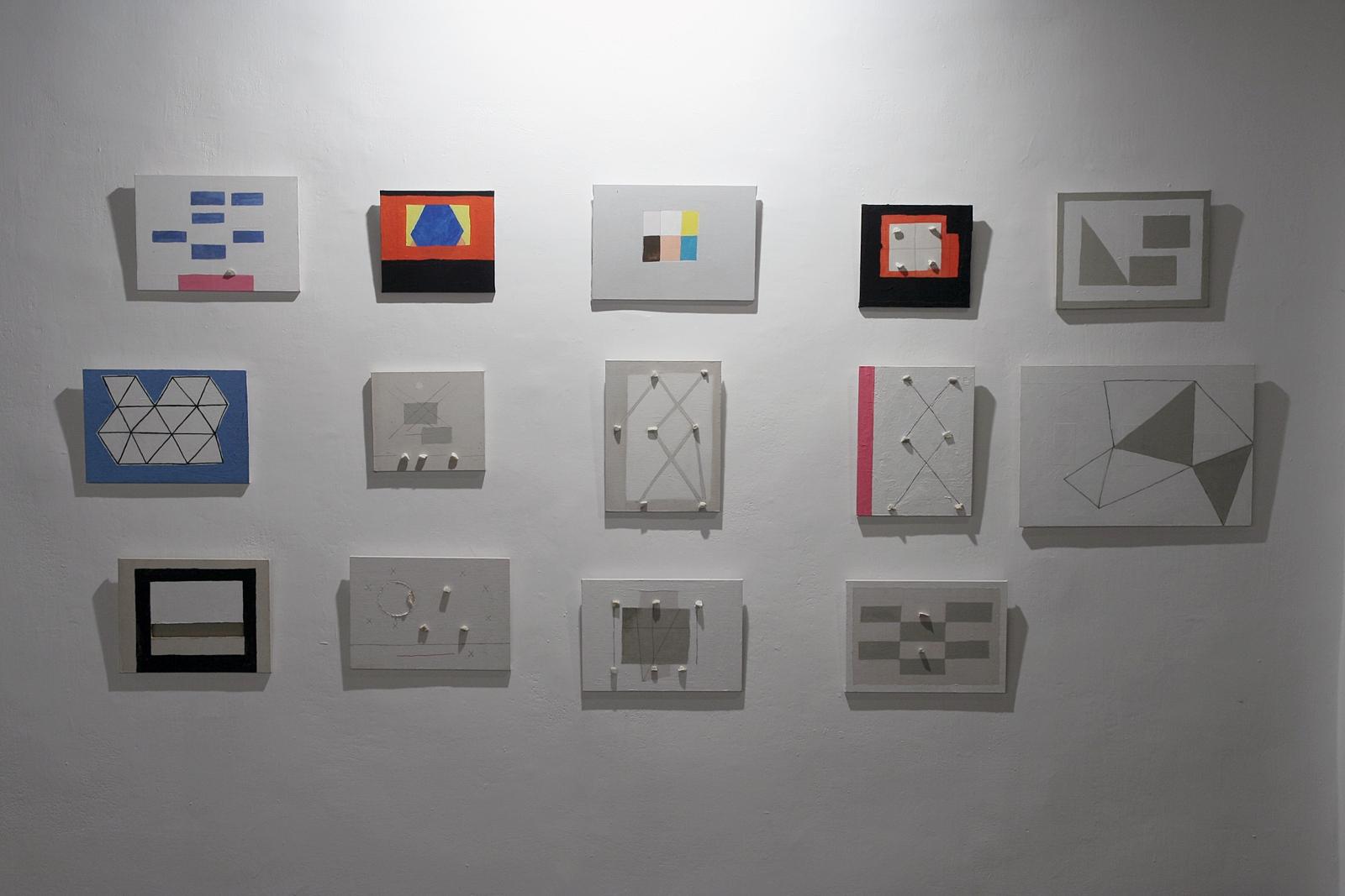 Koji Kamoji małe obrazy 2011-2015, fot.A.Rerak