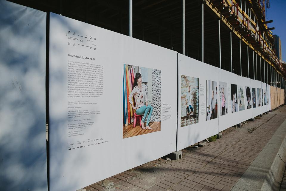 Rajza poKato, Odsłona 3, LOKALSI, galeria 138m, Supersam Katowice, fot.Damian Śmigielski