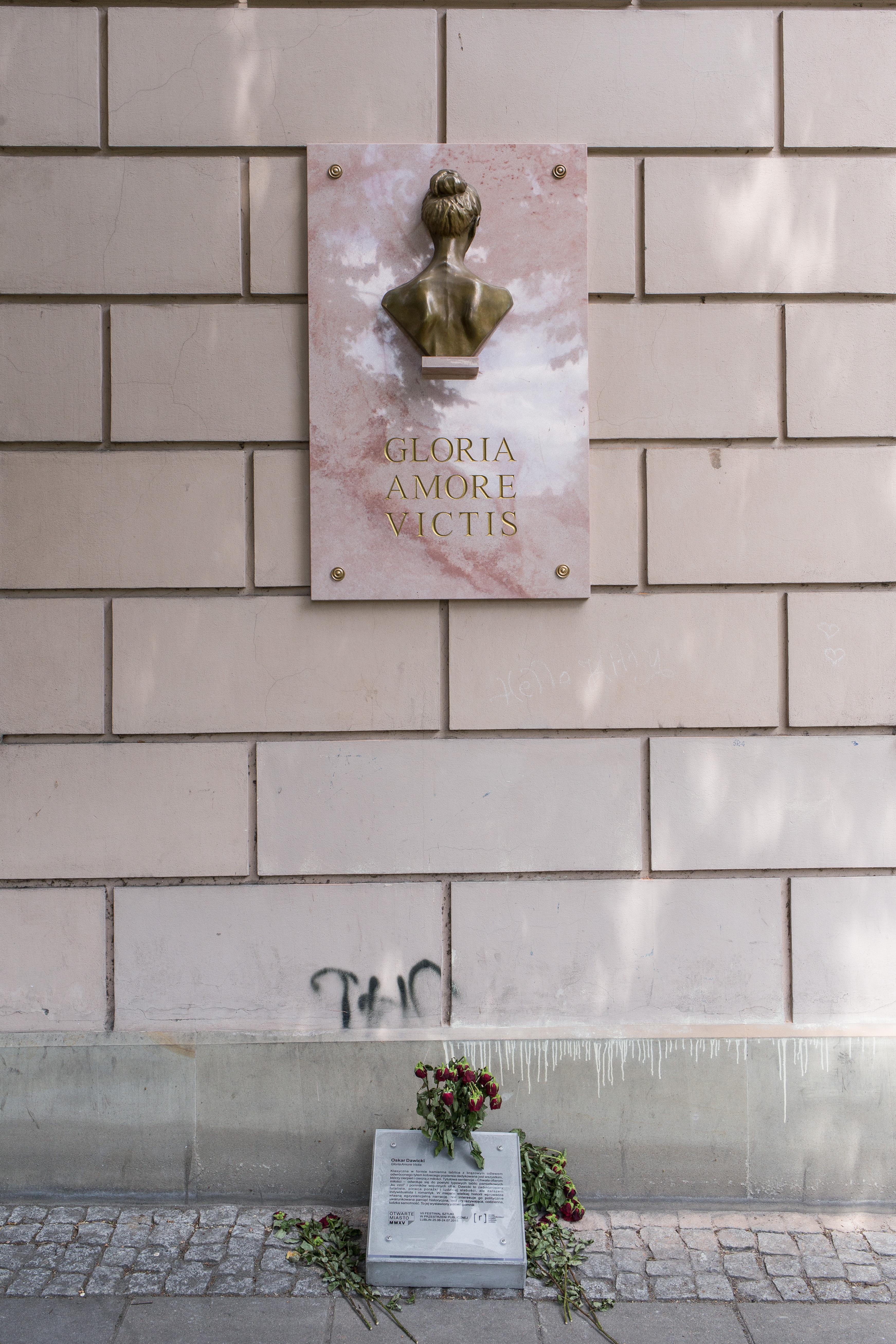 Oskar Dawicki, Gloria Amore Victis, fot.Tomasz Kulbowski