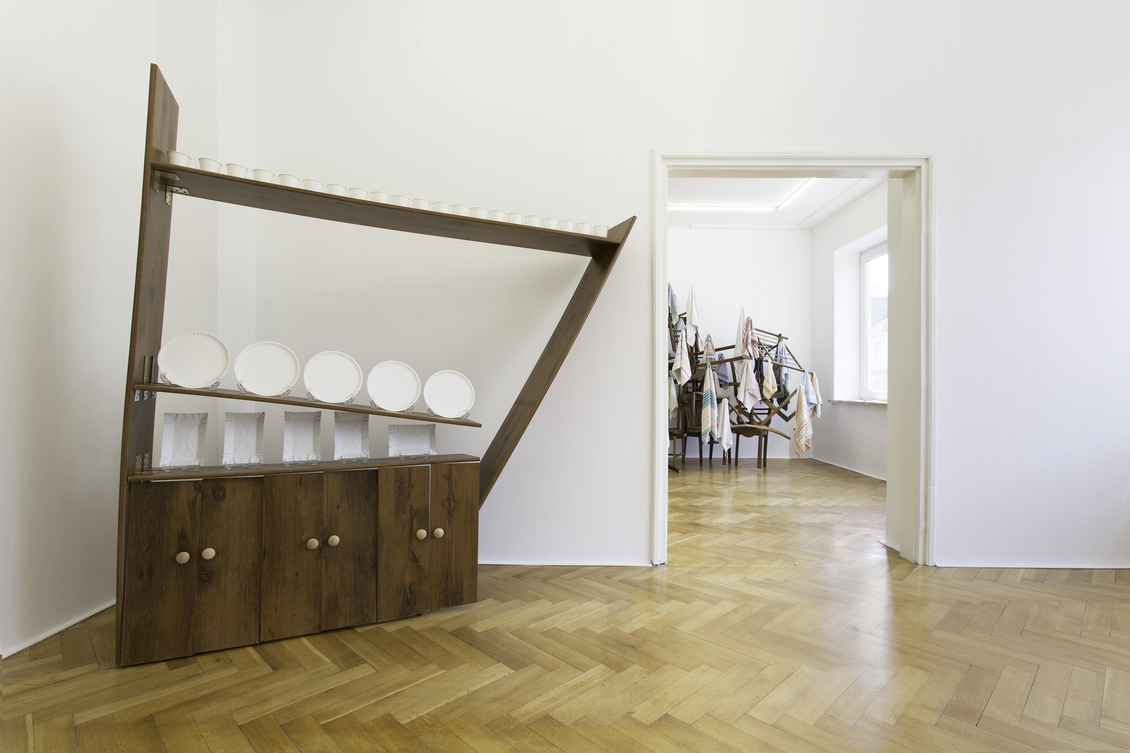 Noriyo Yoshida, Unfunctional comfort, widok nawystawę, galeria Kohana