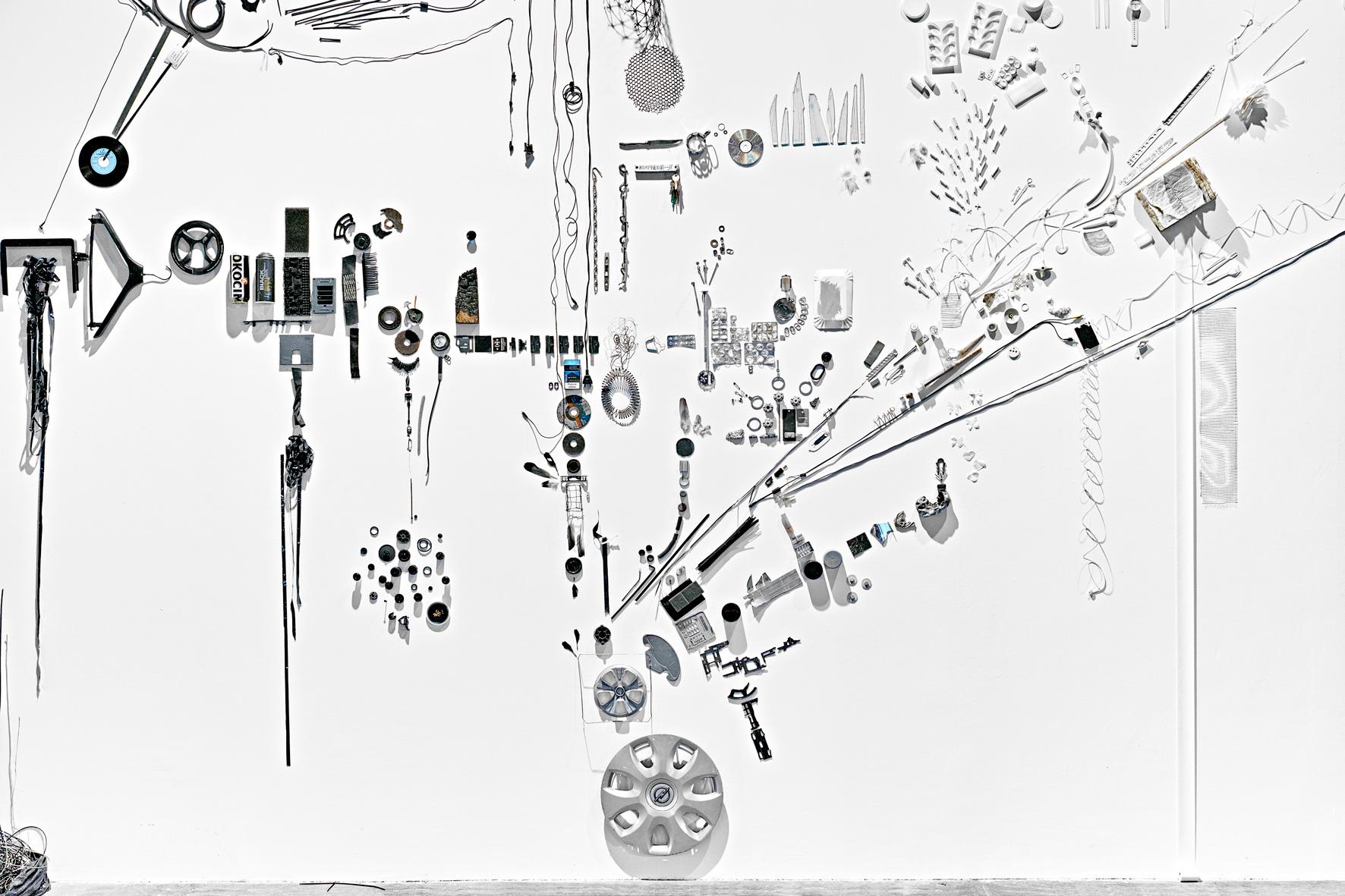 Przedmioty znalezione iwysiłek przewartościowania świata, Sylvie Reno, 2015