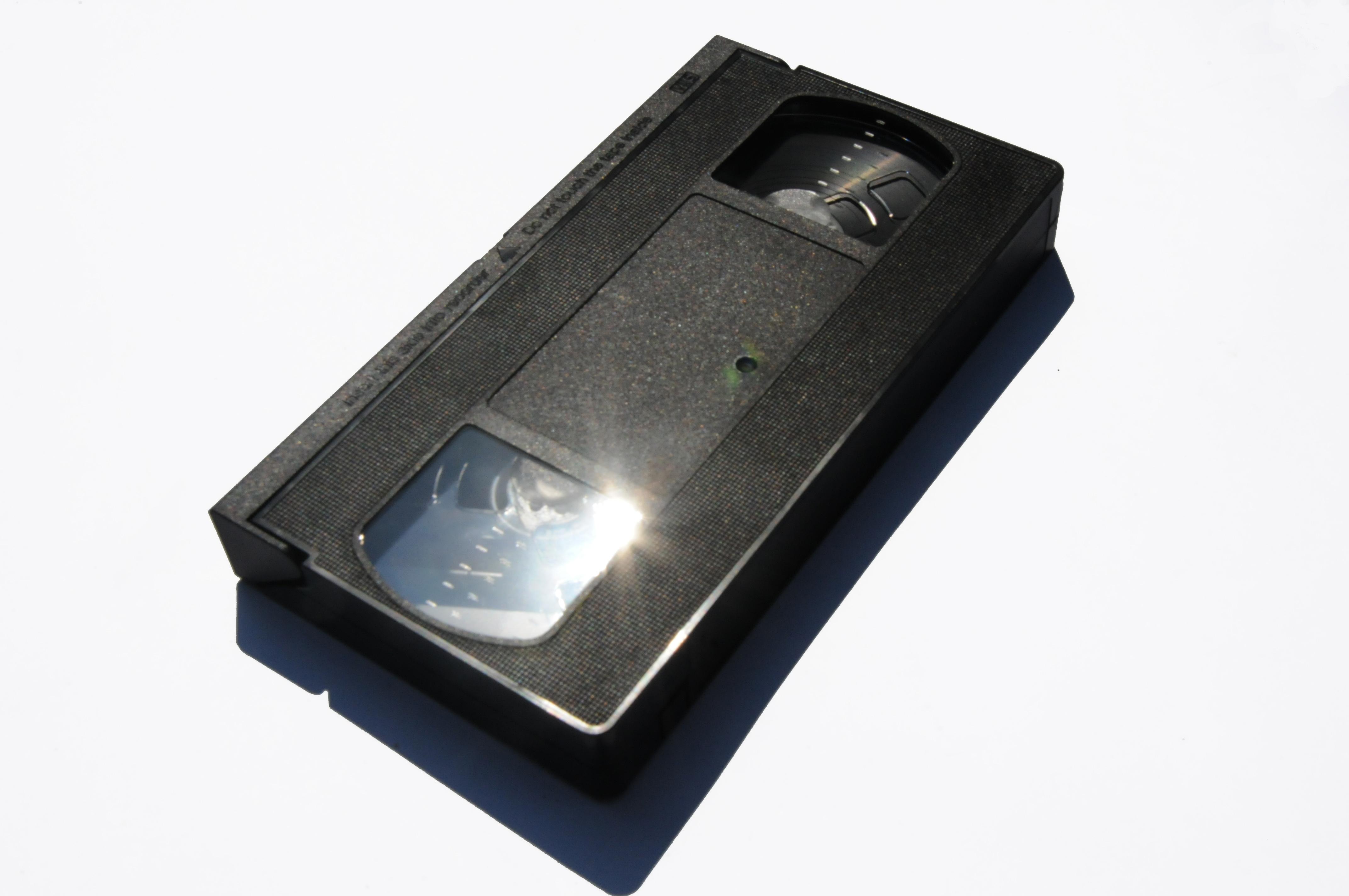 Kaseta VHS, obiekt archiwalny