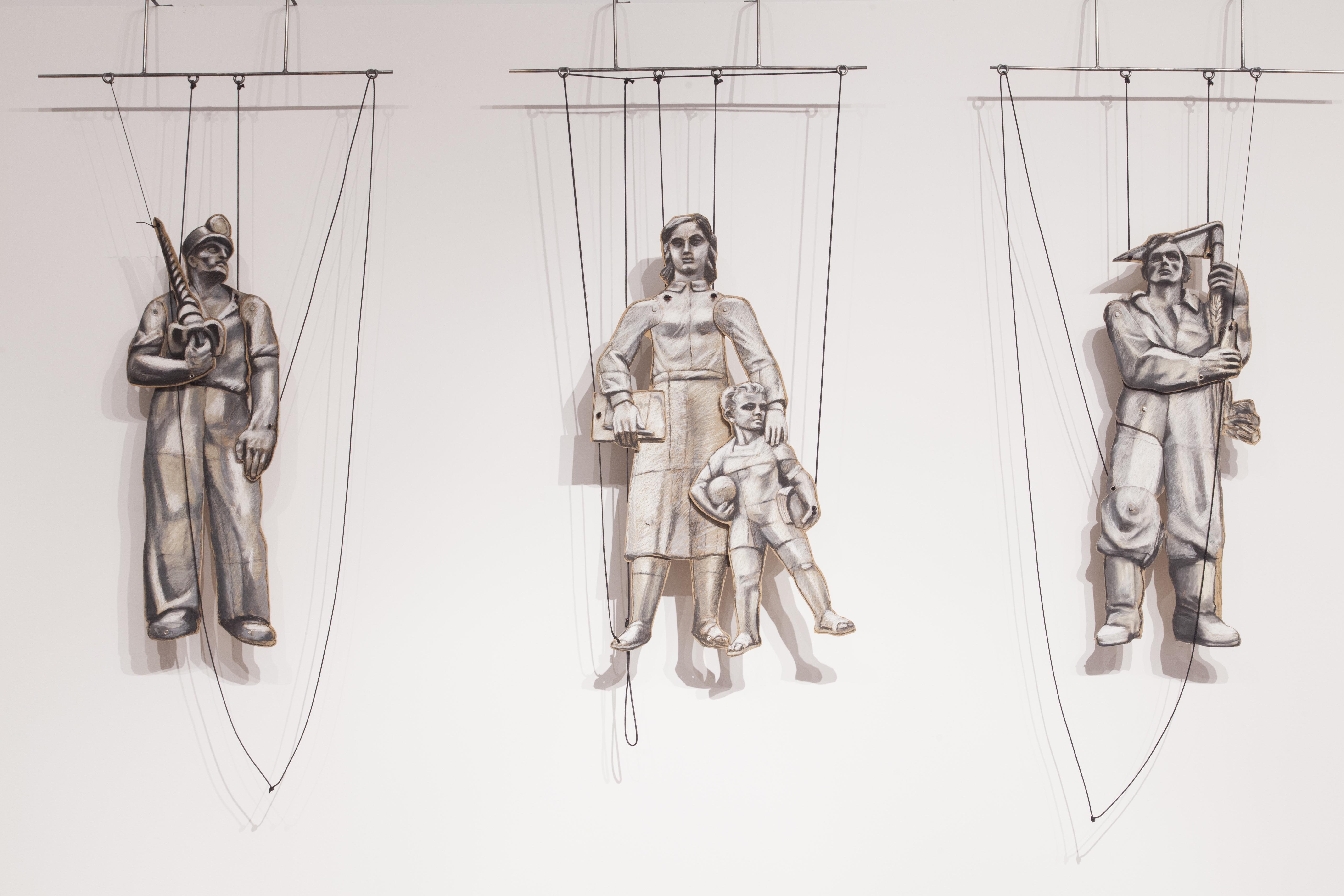 Figury retoryczne. Warszawska rzeźba architektoniczna 1918-1970, widok wystawy