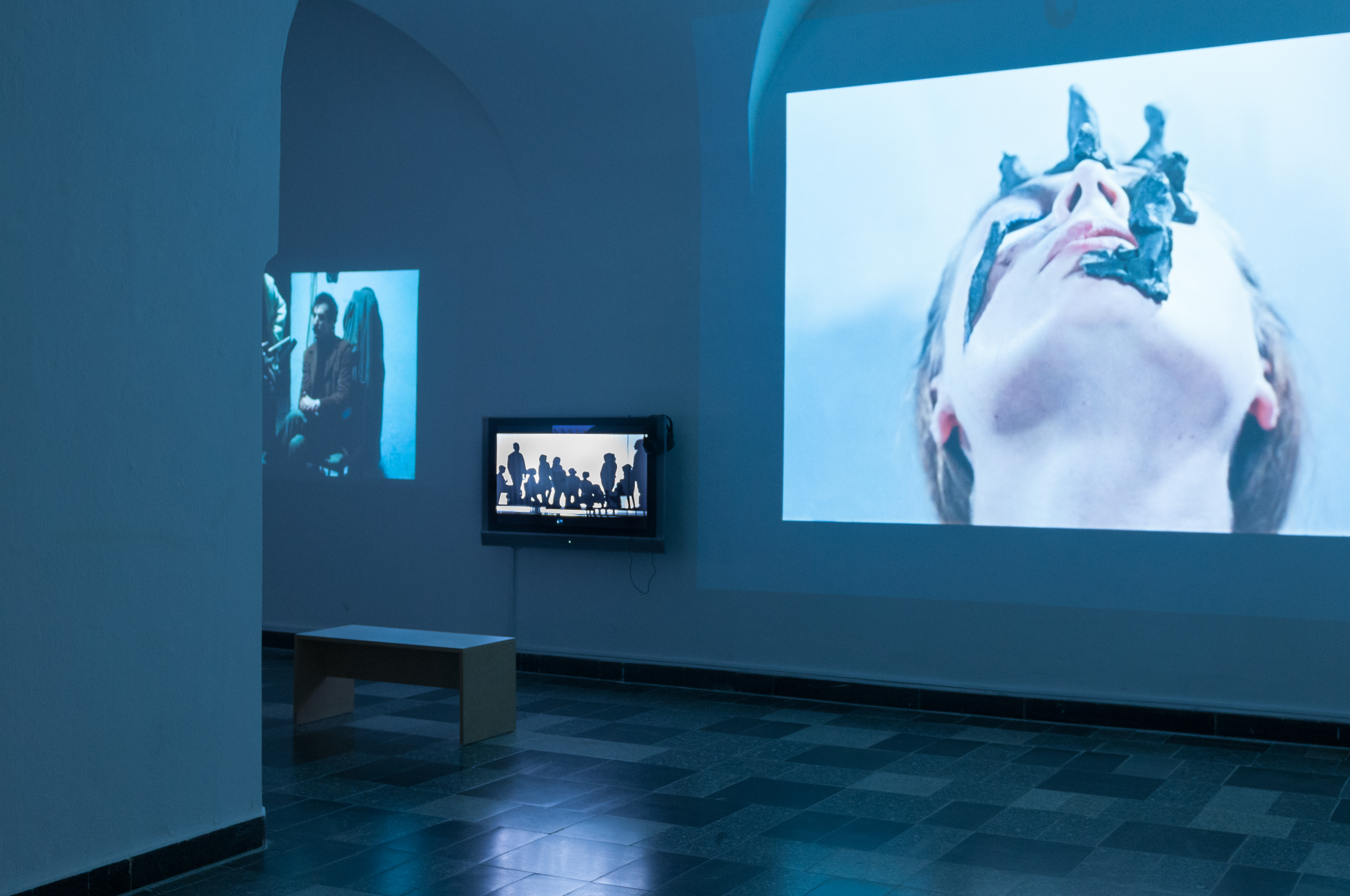 Ruchome obrazy, widok wystawy