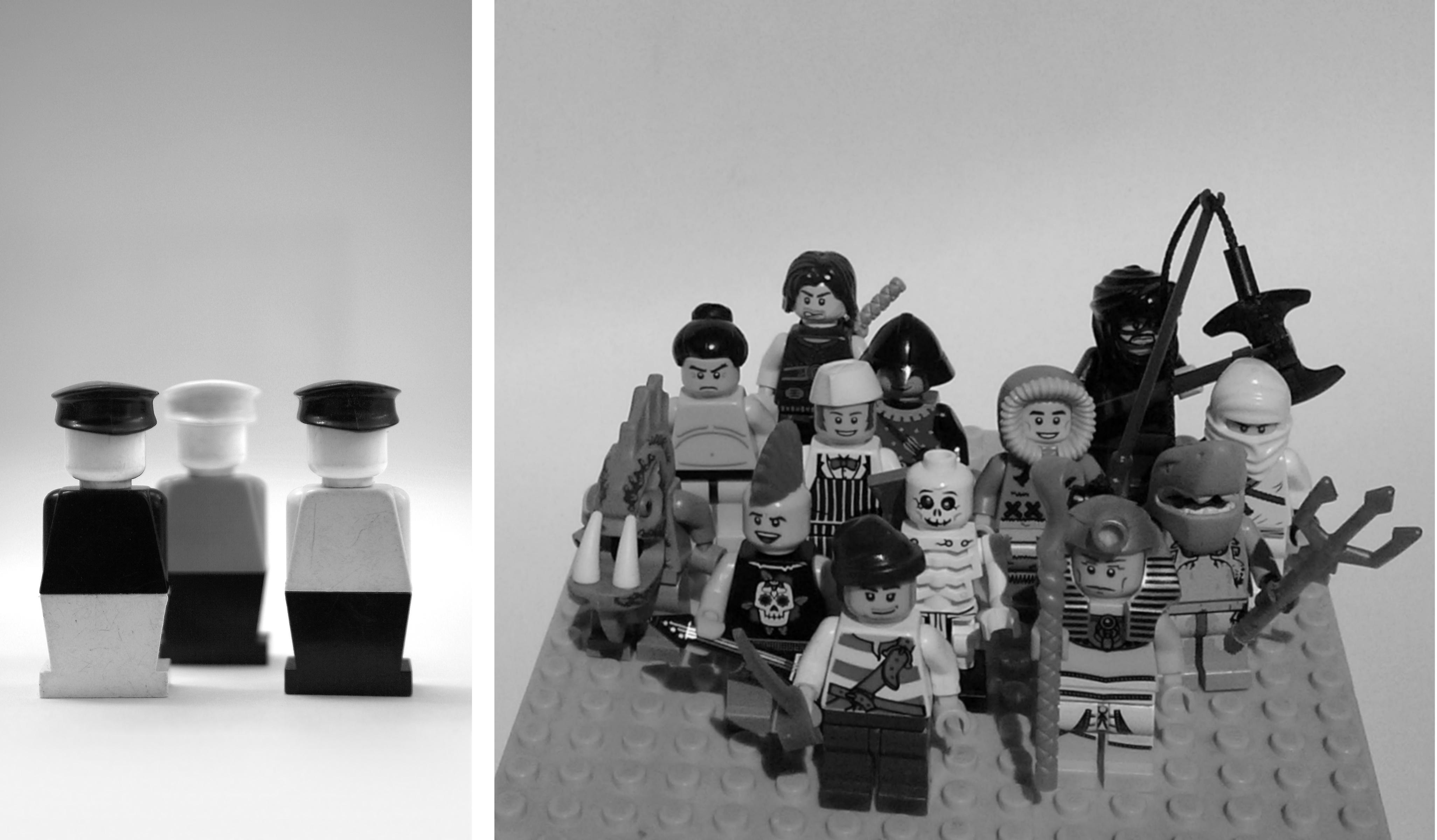 """""""Gdy upadł mur berliński wświecie Lego zapanował indywidualizm. Uniwersalny robotnik został zastąpiony przezgwiazdę filmową (…). Tobyła lekcja kapitalizmu: możesz być kim chcesz. Achcesz być celebrytą lub postacią zserialu."""" fot.Tomek Frycz (dzięki uprzejmości wyd. Karakter) / fot.G. Sułkowska"""