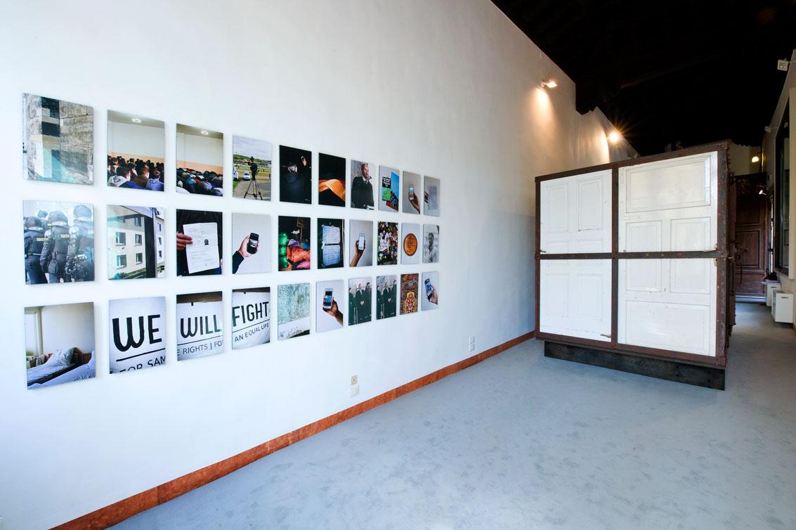 Dispossession, widok wystawy