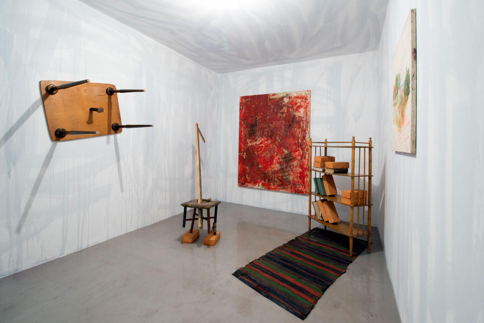 Andrij Sahajdowski, Pokój, instalacja multimedialna, 2015