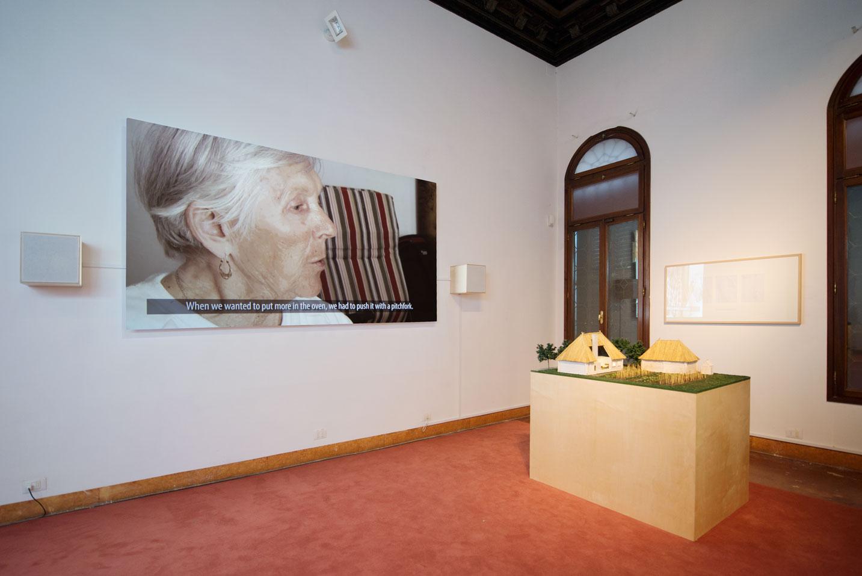 he Open Group, Podwórko, instalacja multimedialna iwideo, 2015