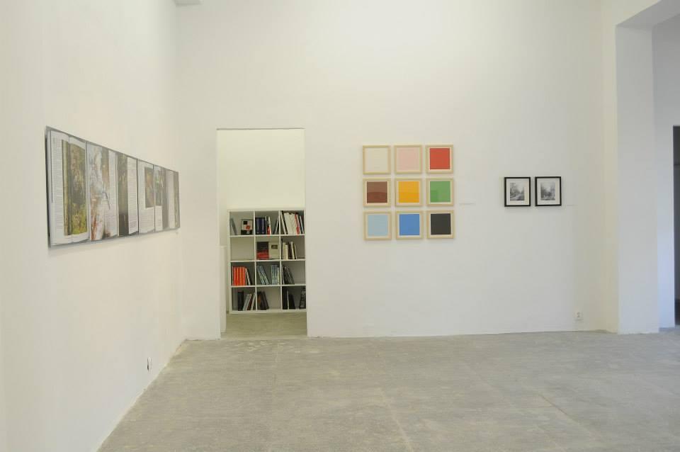 Sztuka według polityki, widok wystawy, galeria Profile