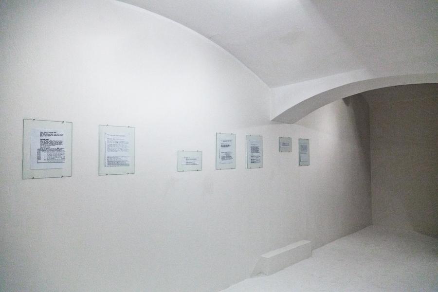 Galeria Sztuki Współczesnej Bunkier Sztuki, Gesty znikania, fot.K. Marszycka