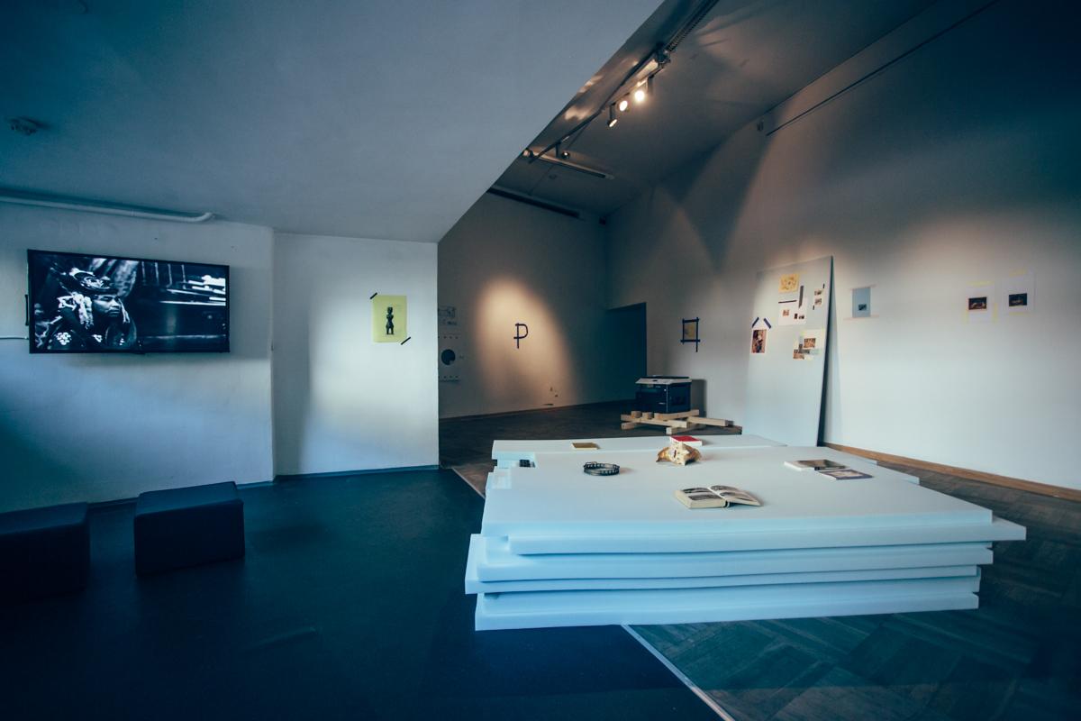 Potlacz, widok wystawy