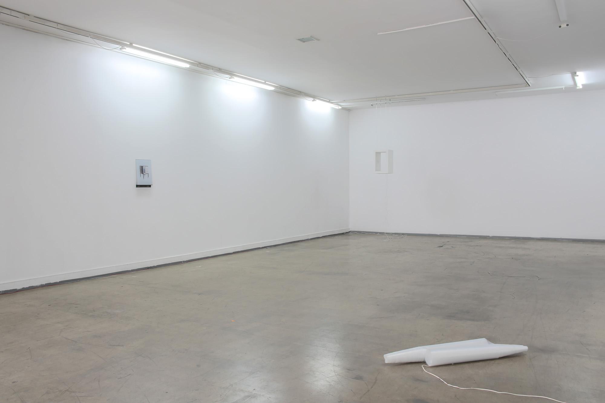 Widok wystawy Trzaski, dzięki uprzejmości Galerii Wschód