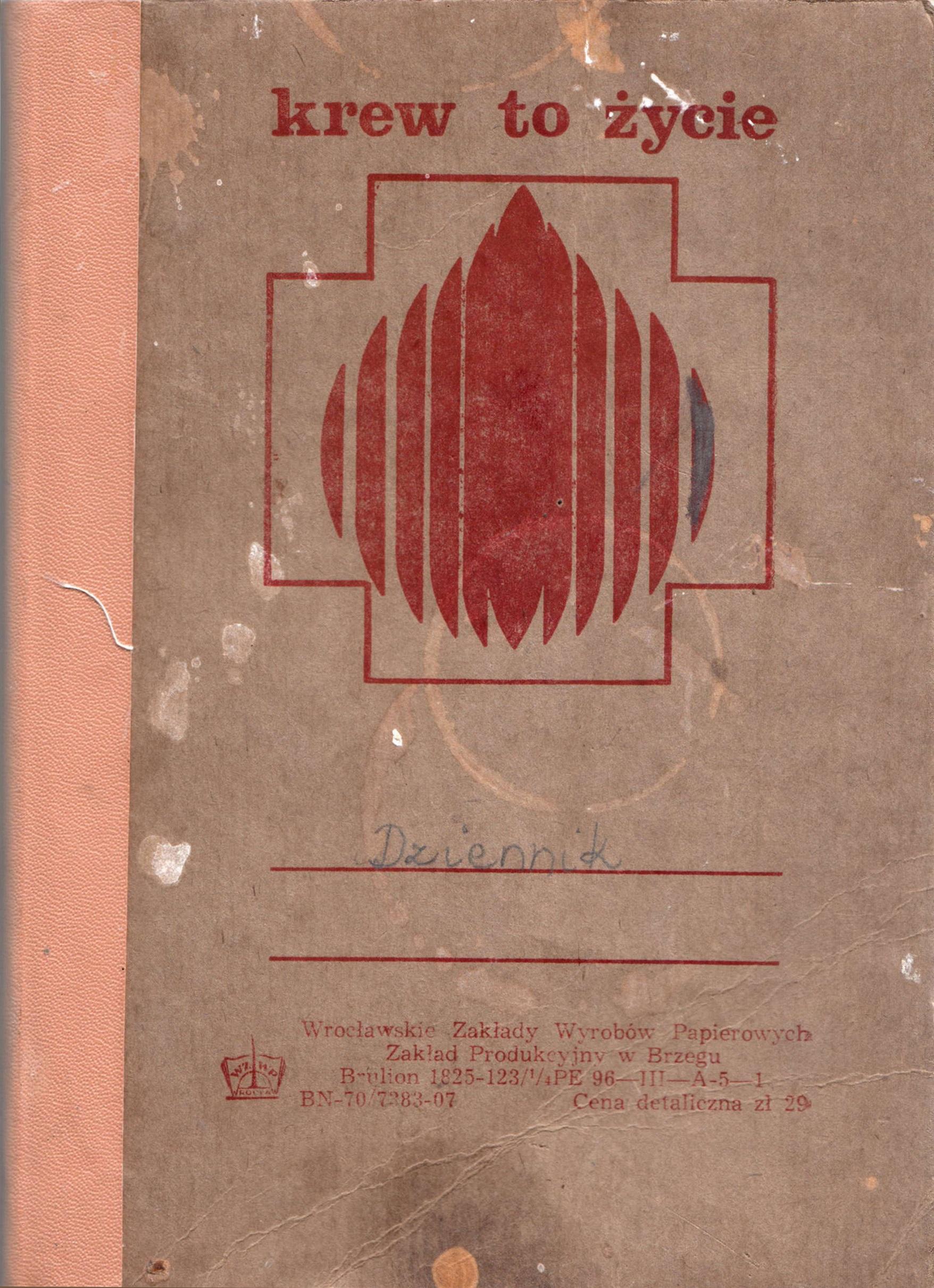 Dziennik, ten któryczytacie, obiekt archiwalny