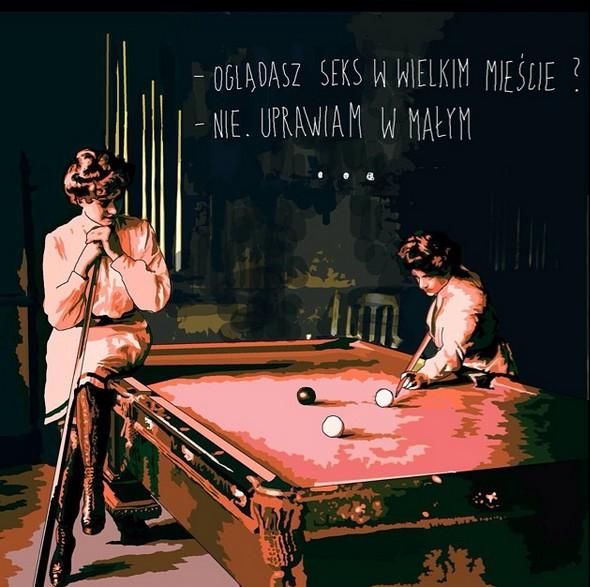 Mem autorstwa Marty Frej, współorganizatorki festiwalu Arteria