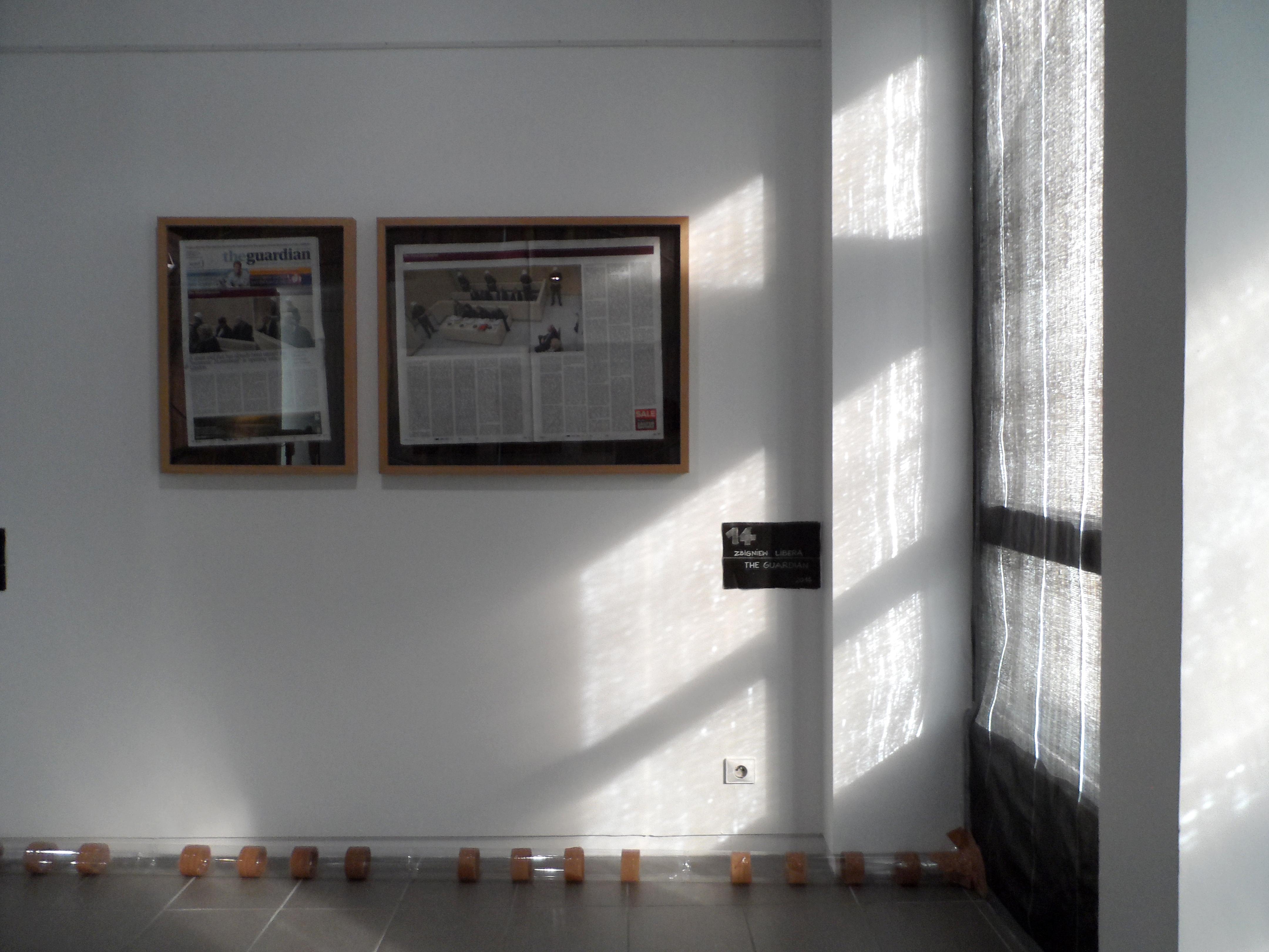 Zbigniew Libera, The Guardian, tusz pigmentowy napapierze bawełnianym, 2014 / dzięki uprzejmości Galerii Raster wWarszawie