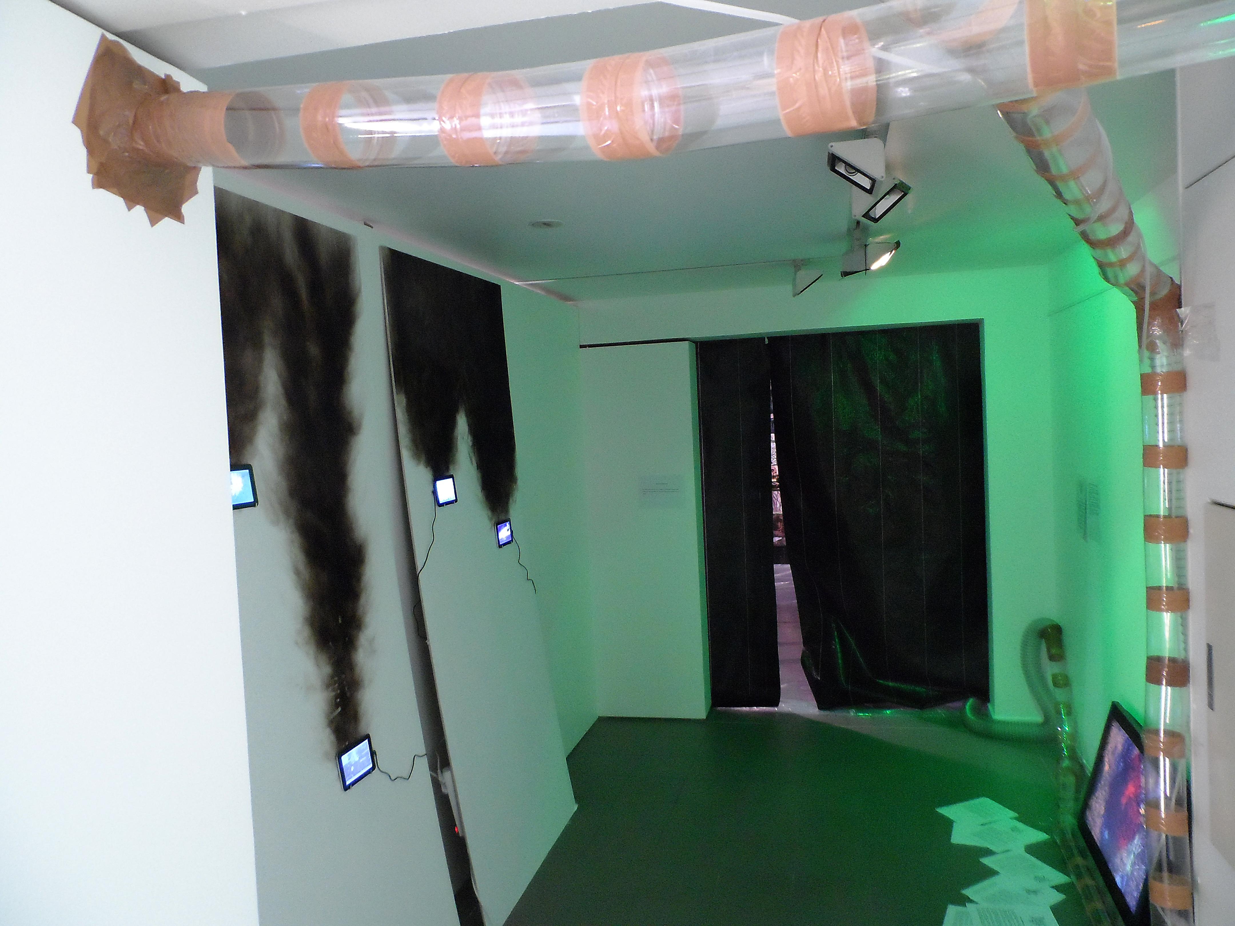 Maciek Chodziński & Maciek Salamon, Roboty ziemne, instalacja, wideo, 2014