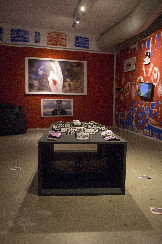 Roots&Fruits, widok wystawy