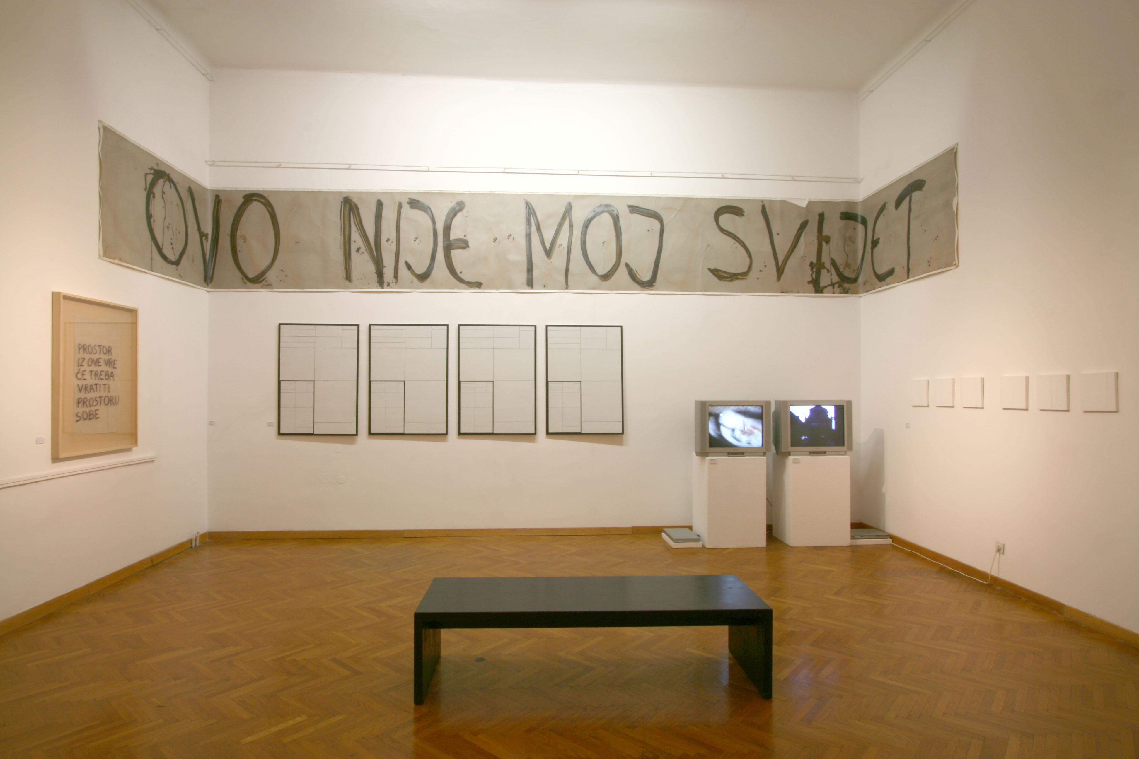 Exhibition in Rijeka in 2007 in the Museum of Modern and Contemporary Art