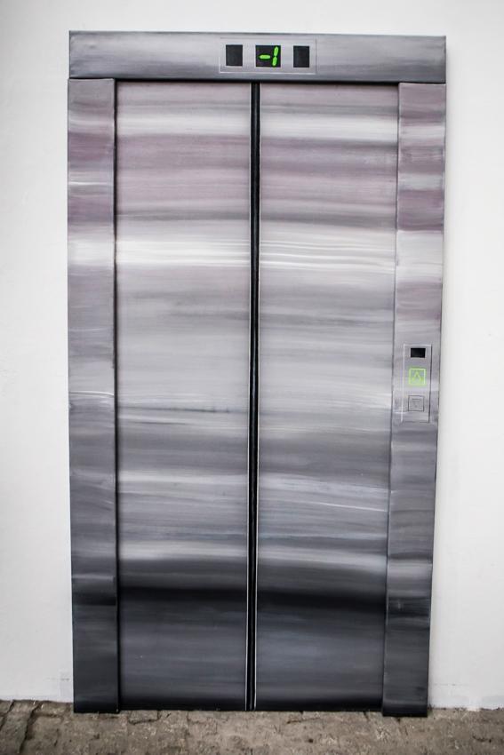 Biennale WRO, wystawa Resume, Krzysztof Bryła, Czekając nawindę