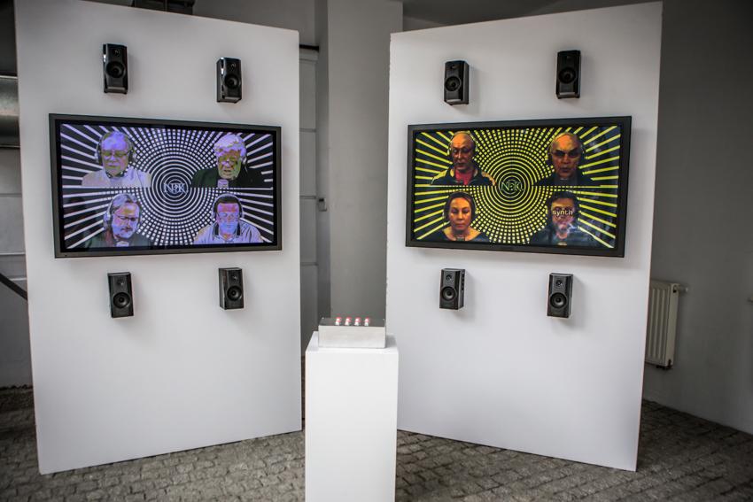 Biennale WRO, wystawa Resume, Marcello Zammenhoff, Niewygodny