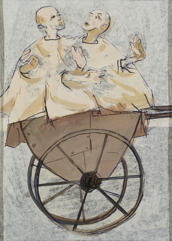 Kantor, Dzieci wwĂłzku naĹ›mieci, zcyklu Ludzie atrapy, 1961