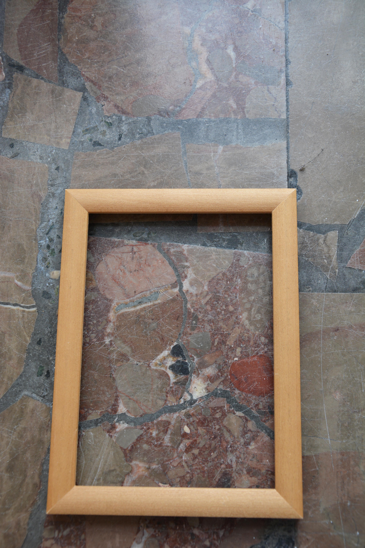 Pola Dwurnik, Morfologia podłogi, fragment wystawy