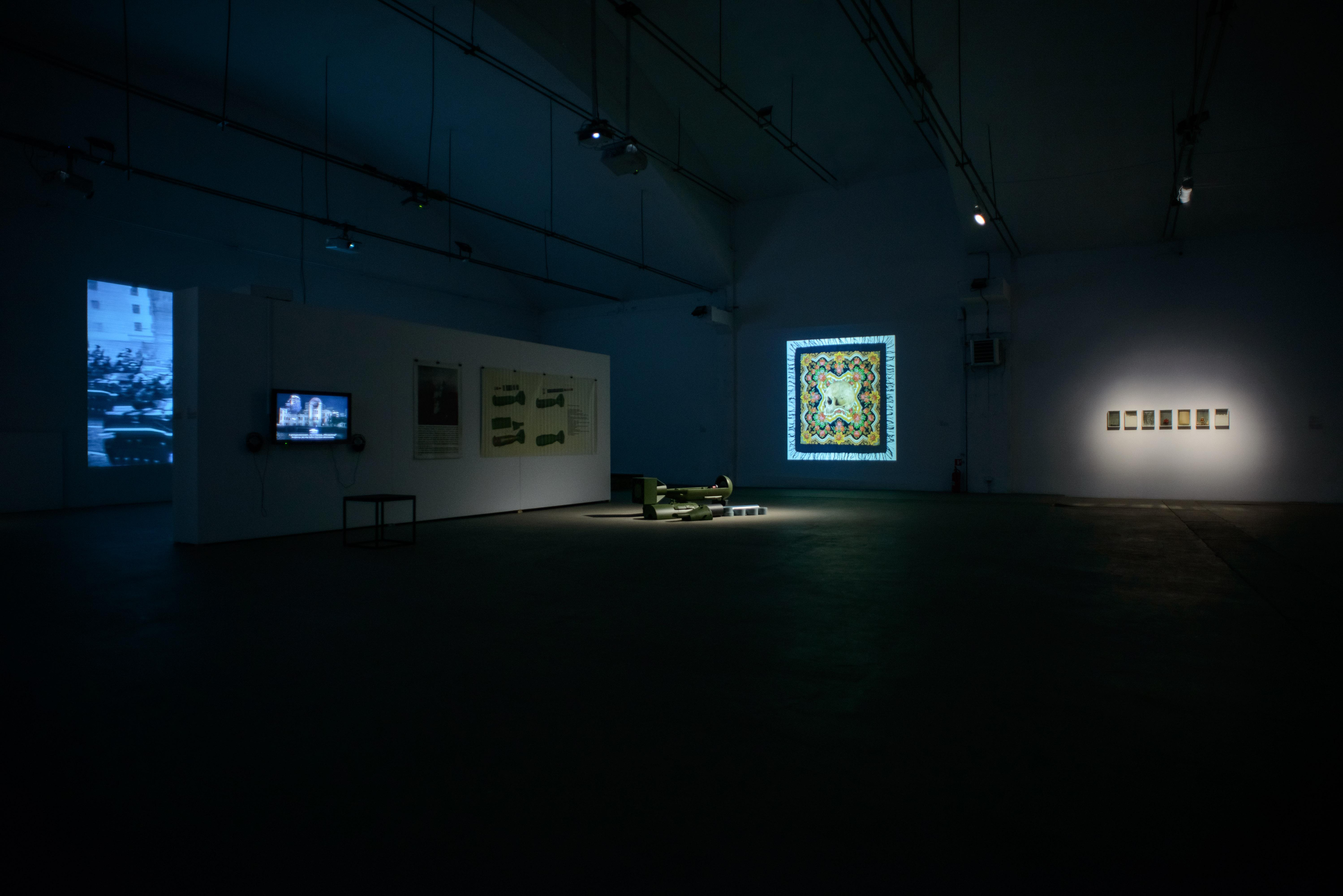 Wojna ipokój, widok wystawy