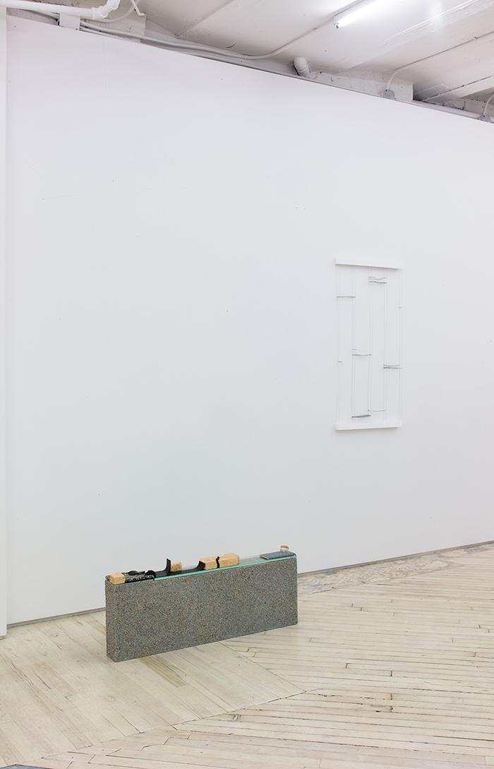 Cztery ściany, widok wystawy, 2015