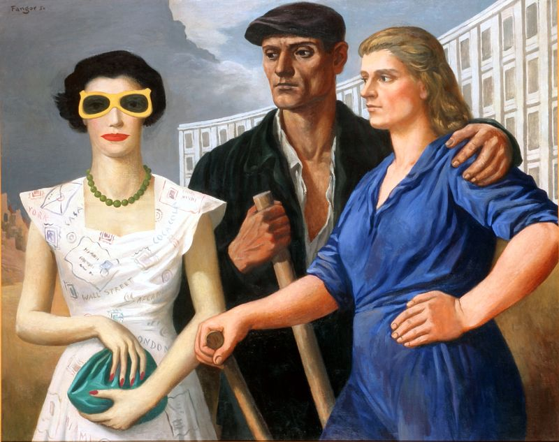 """""""Art in America"""" Karola Radziszewskiego wGalerii Manhattan"""